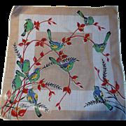 Wren Bird Handkerchief