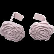 Rose Cast Iron Tiebacks