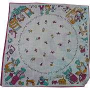 Goldilocks Handkerchief