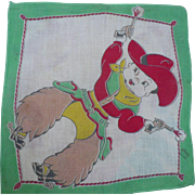 Little Cowboy Handkerchief