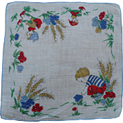 Boy Elves Handkerchief