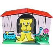 Dog House Tin Bank