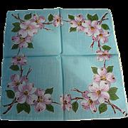 Apple Blossom Handkerchief
