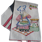 Crying Onion Towel Embroidered
