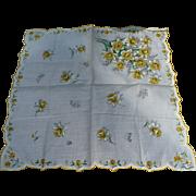 Burmel Daffodil Handkerchief