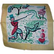 Peter Hunt Handkerchief