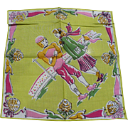 Football Teenager Handkerchief