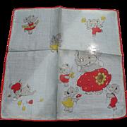 Googley Eye Elephant Handkerchief