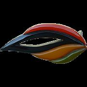 Bakelite Multicolor Clip