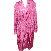 1940's Duck Brocade Robe