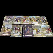 1908 Ten Commandments Postcards