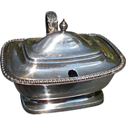 Sterling Lidded Salt Cellar
