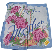 Mother Floral Handkerchief