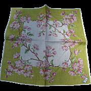 Burmel Apple Blossom Handkerchief