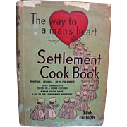 1947 Settlement Cookbook
