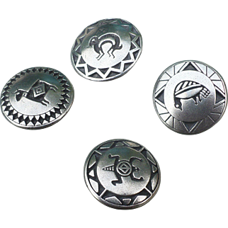 Pewter Southwest Buttons by Danforth