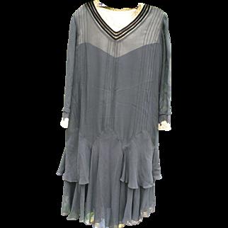 Black Flapper Dress