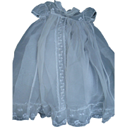 Organdy Christening Gown & Slip