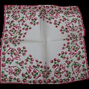 Pig in Clover Handkerchief
