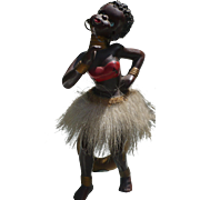Black Figural Dancer