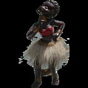 Black Figural Dancer