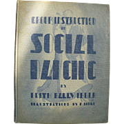 Instruction Social Dancing 1938 Book