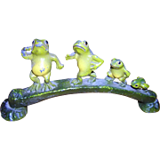 Cast Iron Frog Family