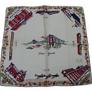 1939 New York Handkerchief