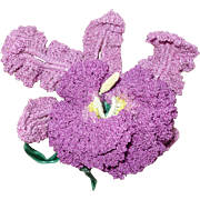 Hand Crochet Orchid