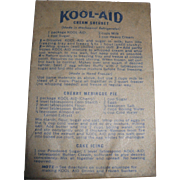 Early Kool-Aid Package