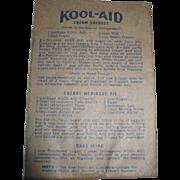 Early Kool-Aid Package