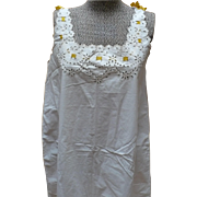 1930's Cotton Nightgown or Slip