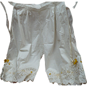 1930's Cotton Pantaloons