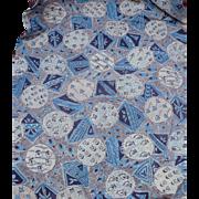 Geometric Floral Feedsack