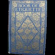 Etiquette Book Eichler 1921