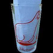 1949 Shmoo Glass Al Capp