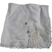 Crochet  Brides Handkerchief