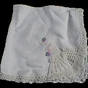 Crochet  Brides Handkerchief