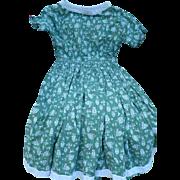 1956 Lanz Print Dress