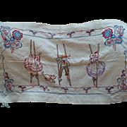 Unusual Embroidered Children Piece