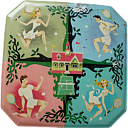 British Sports Cookie Tin