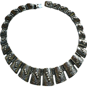 Sterling Taxco Necklace