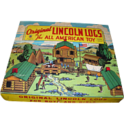 Lincoln Logs 1942 Set