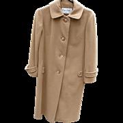 1960's Camel Cashmere Coat