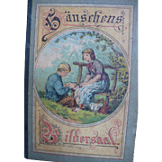 German Children's Alphabet Book