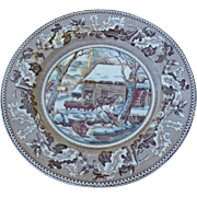 Johnson Thanksgiving Plate