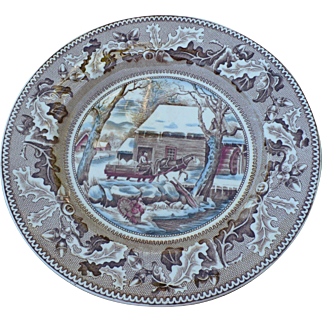 Johnson Thanksgiving Plate