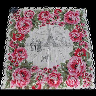 Paris Handkerchief
