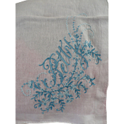 Betty Embroidered Handkerchief