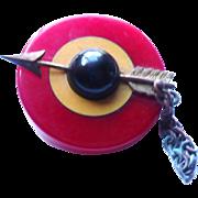 Bakelite Target Button